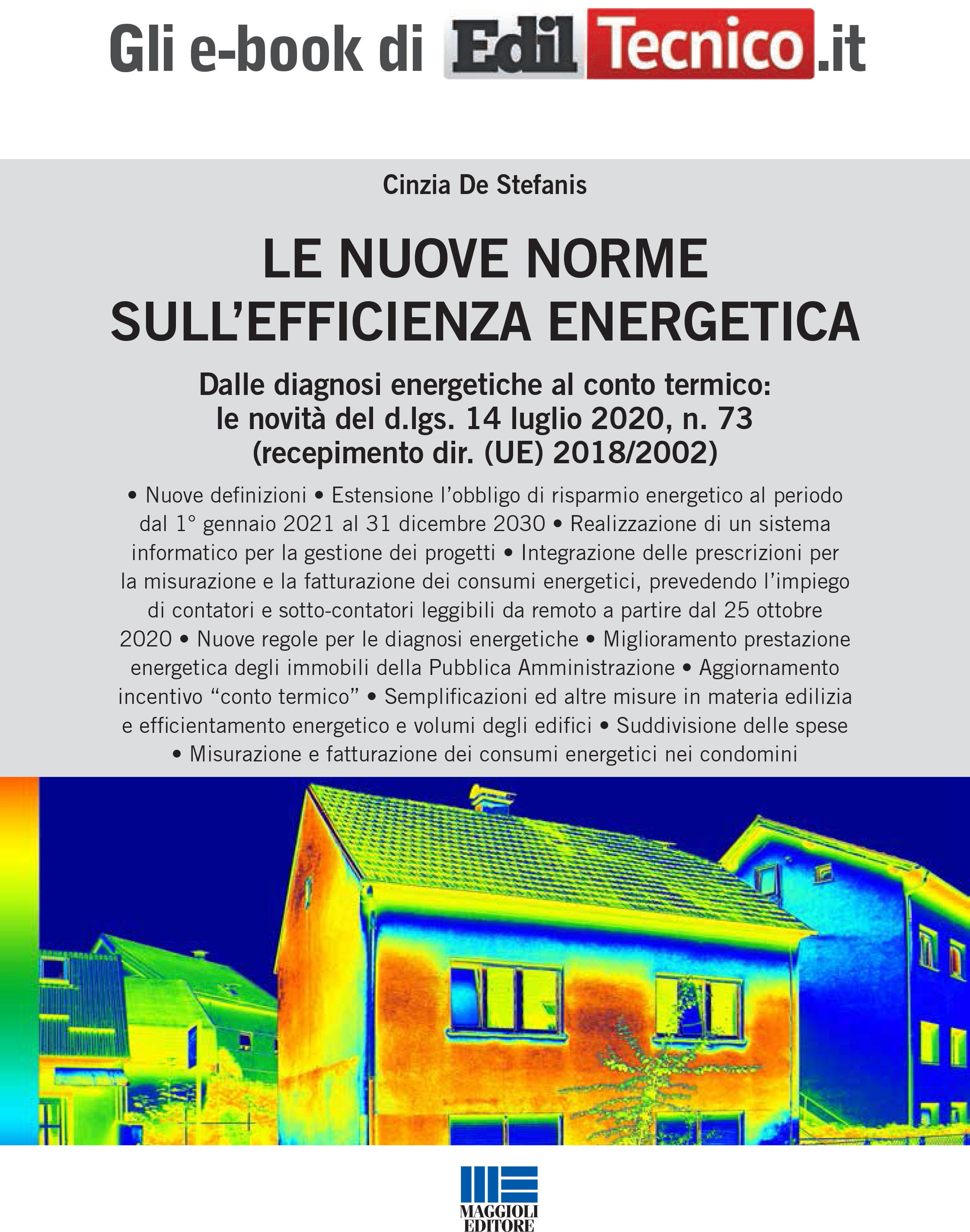 LE NUOVE NORME SULL'EFFICIENZA ENERGETICA - eBook