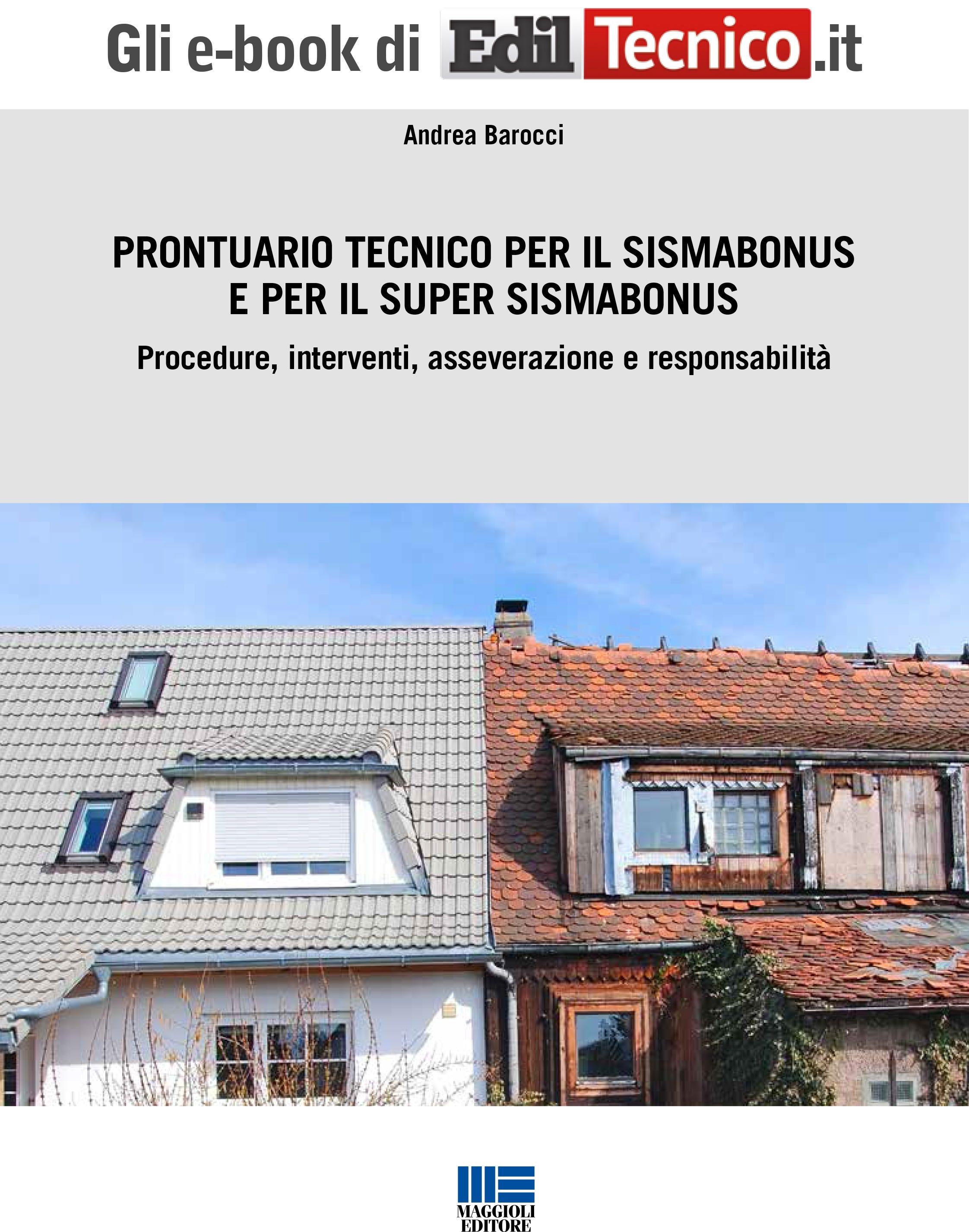 Prontuario tecnico per il Sismabonus e per il Super Sismabonus - e-Book in pdf