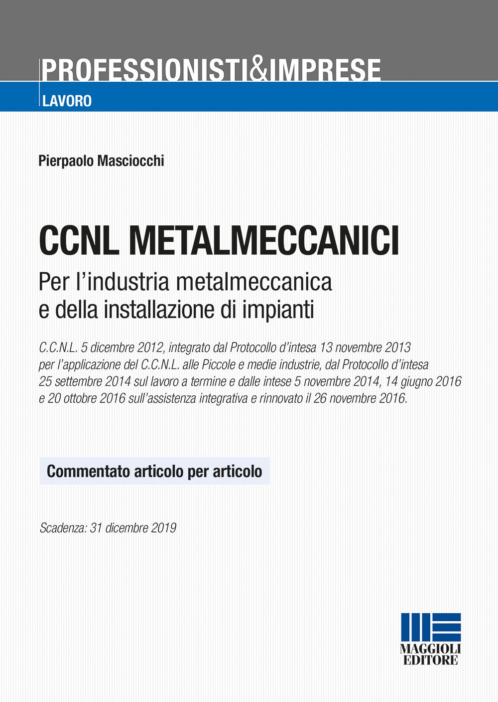 ccnl metalmeccanici da