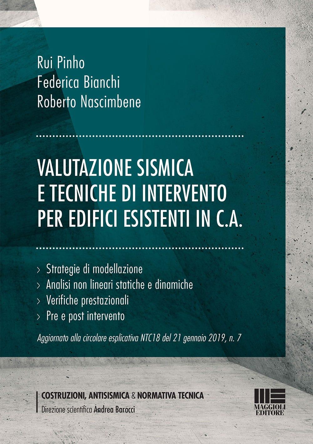 Valutazione sismica e tecniche di intervento per edifici esistenti in c.a.