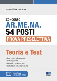 Concorso AR.ME.NA. 54 posti Prova preselettiva