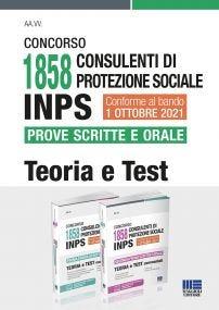 Concorso 1858 Consulenti di protezione sociale INPS Prove scritte e orale - Kit