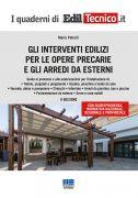 Gli interventi edilizi per le opere precarie e gli arredi da esterni - Maggio 2021
