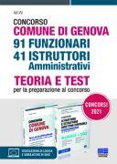 Concorso Comune di Genova 91 Funzionari 41 Istruttori amministrativi - Kit