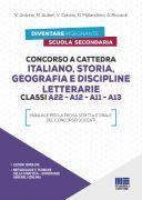 Concorso a cattedra - Italiano, Storia, Geografia e Discipline letterarie - Classi A22 - A12 - A11 - A13