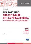 TFA sostegno: tracce svolte per la prova scritta