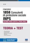 Concorso 1858 Consulenti di protezione sociale INPS - Seconda prova scritta e prova orale