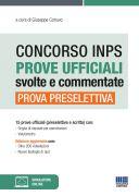Concorso INPS Prove ufficiali svolte e commentate - Prova preselettiva