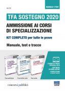 TFA Sostegno 2020 Ammissione ai corsi di specializzazione - Kit completo per tutte le prove