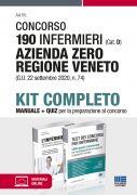Concorso 190 Infermieri (Cat. D) Azienda Zero Regione Veneto (G.U. 22 settembre 2020, n. 74) - Kit completo