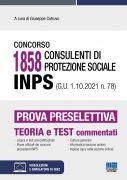 Concorso 1858  Consulenti di protezione sociale INPS