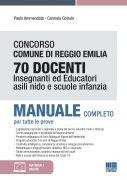 Concorso Comune di Reggio Emilia 70 Docenti Insegnanti ed Educatori Asili nido e Scuole infanzia