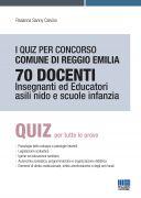 I quiz per concorso Comune di Reggio Emilia 70 Docenti Insegnanti ed Educatori Asili nido e Scuole infanzia
