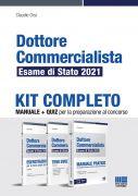 Dottore Commercialista Esame di Stato 2021 - Kit completo