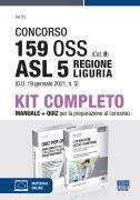 Concorso 159 OSS (Cat. B) ASL 5 Regione Liguria (G.U. 19 gennaio 2021, n. 5) - Kit completo