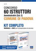 Concorso 60 Istruttori amministrativi (Cat. C) Comune di Padova - Kit completo