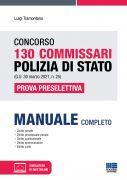 Concorso 130 Commissari Polizia di Stato (G.U. 30 marzo 2021, n. 25) - Prova preselettiva