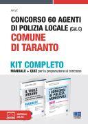 Concorso 60 Agenti di Polizia locale (Cat. C) Comune di Taranto - Kit completo