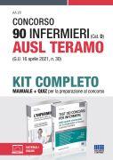 Concorso 90 Infermieri (Cat. D) AUSL Teramo (G.U. 16 aprile 2021, n. 30) - Kit completo