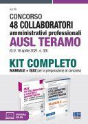 Concorso 48 Collaboratori amministrativi professionali AUSL Teramo (G.U. 16 aprile 2021, n. 30) - Kit completo