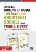 Concorso Comune di Roma 140 Funzionari Assistenti sociali (FASD/RM) - Kit completo