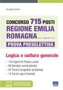 Concorso 715 posti Regione Emilia Romagna (G.U. 11 maggio 2021, n. 37) - Prova preselettiva