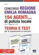 Concorso Regione Emilia Romagna 154 Agenti di Polizia locale (Cat. C) (G.U. 11 maggio 2021, n. 37) - Kit completo
