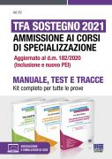 TFA Sostegno 2021 Ammissione ai corsi di specializzazione - Kit completo per tutte le prove