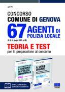 Concorso Comune di Genova 67 Agenti di Polizia locale (G.U. 18 giugno 2021, n. 48) - Kit