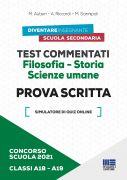 Test commentati Filosofia - Storia Scienze umane Classi A18/A19 - Prova scritta