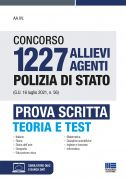 Concorso 1227 Allievi Agenti Polizia di Stato (G.U. 16 luglio 2021, n. 56) - Prova scritta