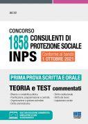Concorso 1858 Consulenti di protezione sociale INPS - Prima prova scritta e orale
