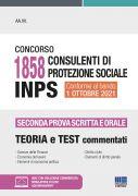 Concorso 1858 Consulenti di protezione sociale INPS - Seconda prova scritta e orale