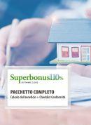 Kit Superbonus: Calcolo del beneficio (pacchetto 10 licenze) + Check list conformità (pacchetto 10 licenze)