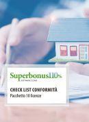 Superbonus 110% -  Checklist Conformità